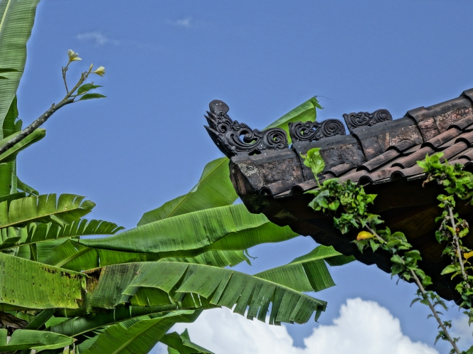 Roof of house in Ubud