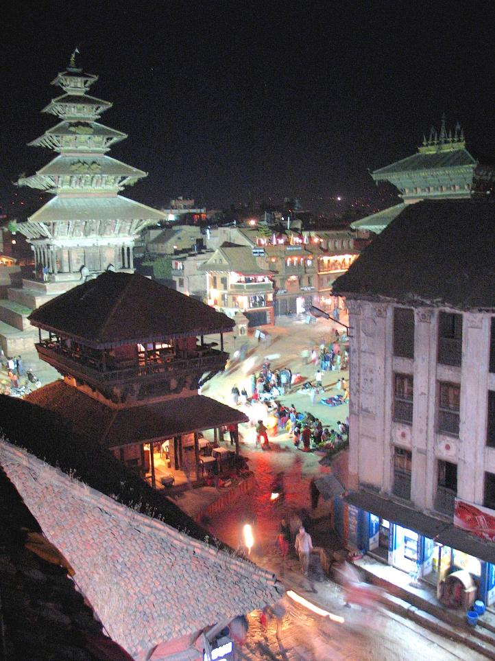 Bhaktapur's Durbur Square Night Market