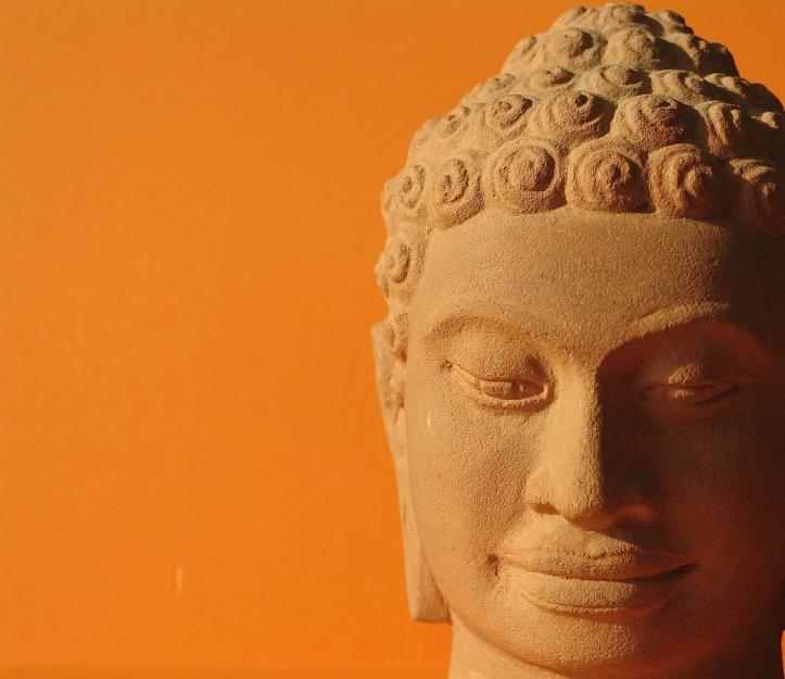 Cambodia Buddha, near Angkor Wat