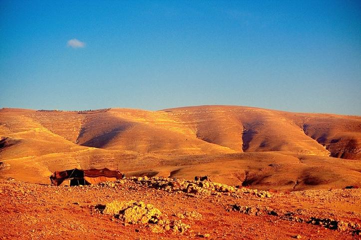 Bedouin family tent, Jordan