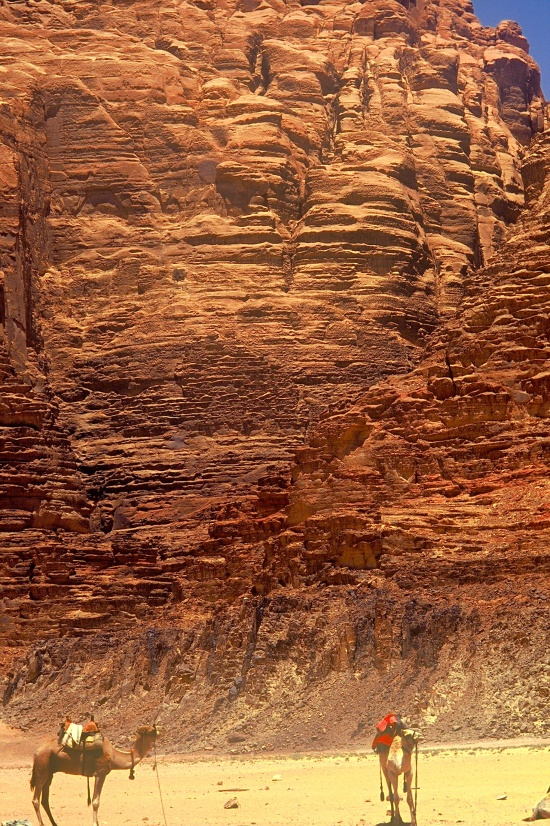 No rest for the weary, Wadi Rum