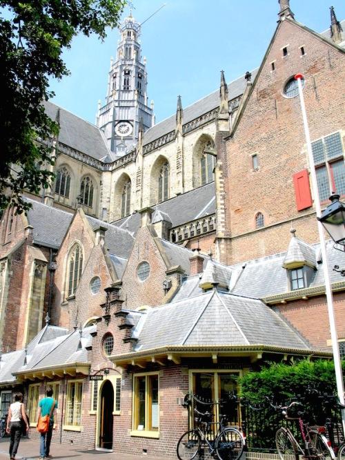Nieuwe Kerk courtyard