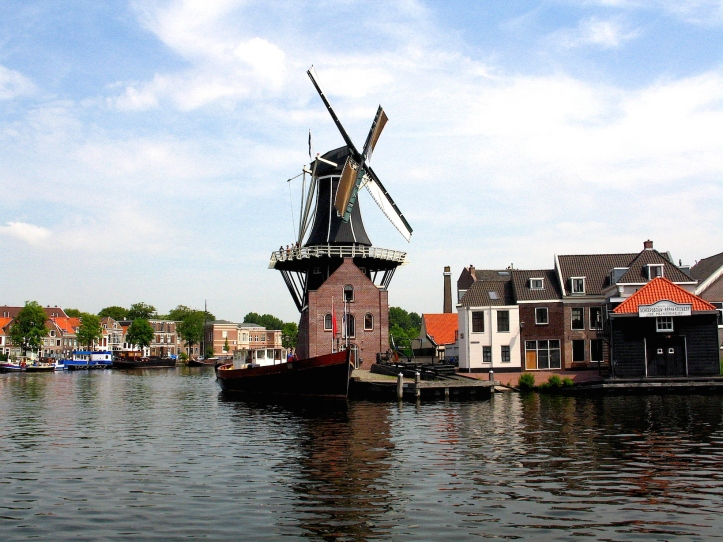 Windmill in Delft, Netherlands