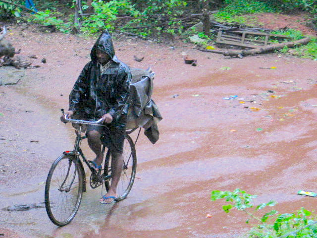 The bread delivery boy may not love a monsoon