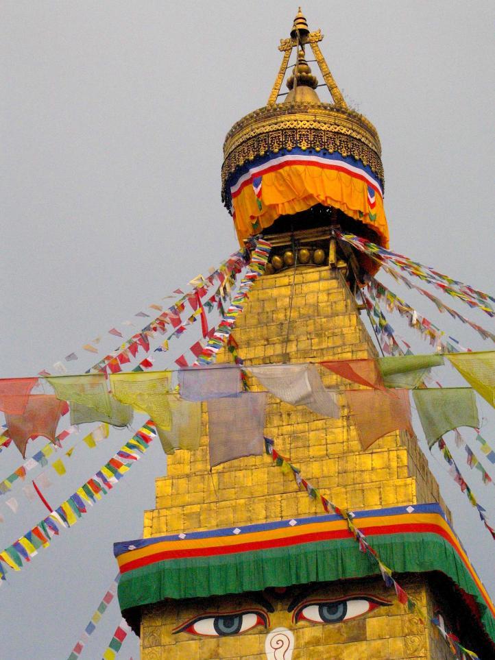 Buddhist stupa top