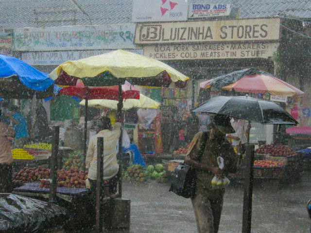 Shopping during monsoon