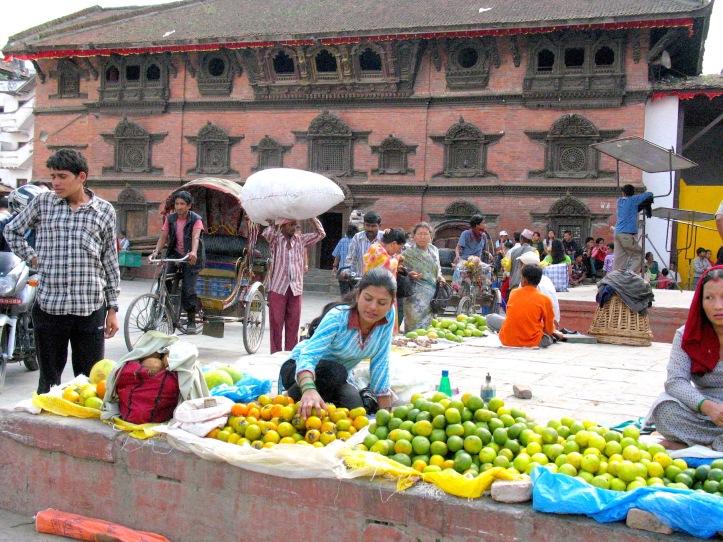 Orange vendor -- more rainbows