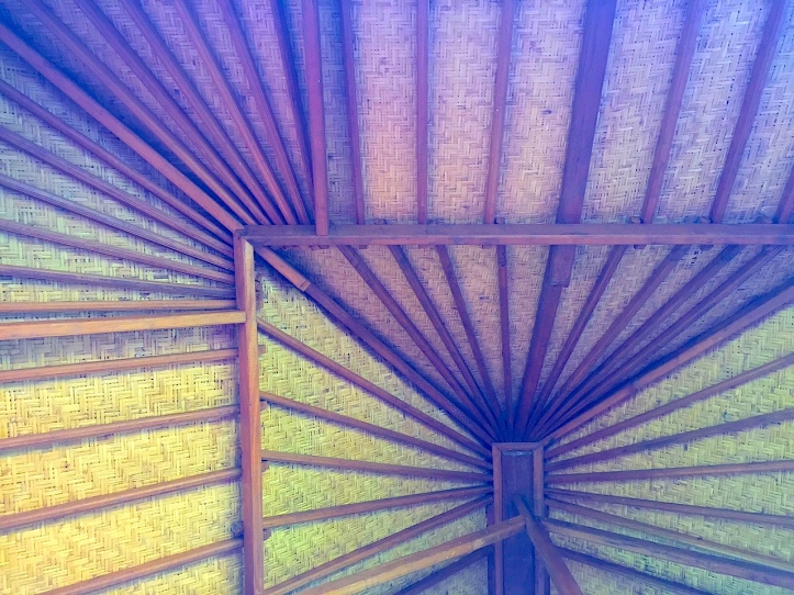 Framework inside roof