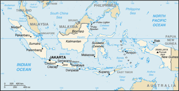 1a INDOnesia Map