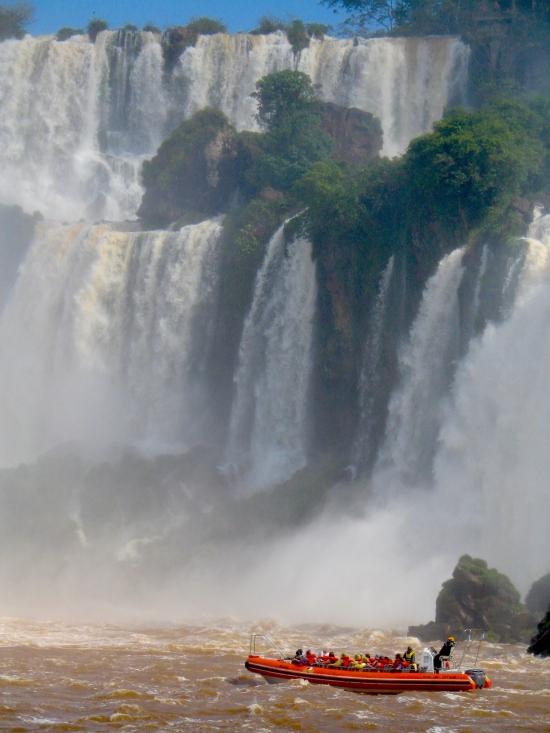 Iguazu Falls, Argentina,