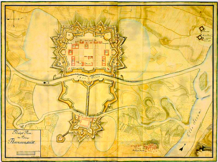 3 Terezin Map 1790 e1