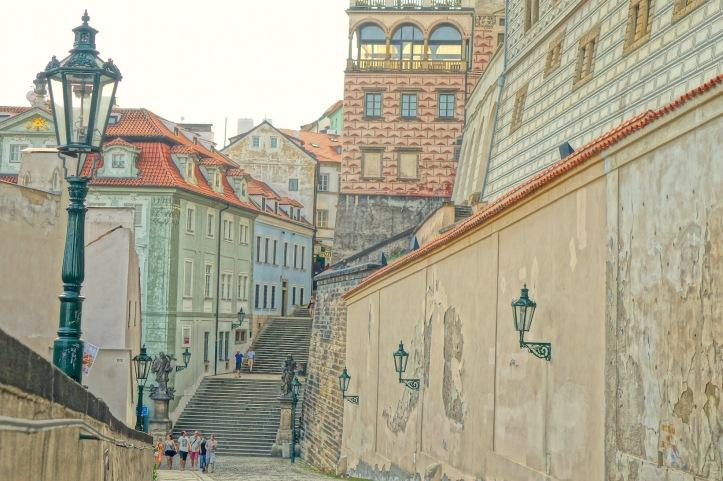 Zamecky Schody - Prague walking tour
