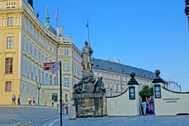 Prague Castle Starbucks