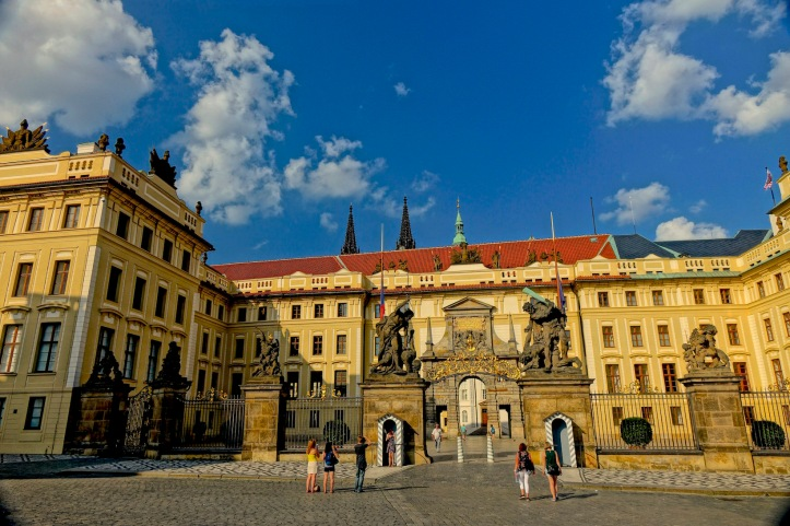 Prague Castle main gate
