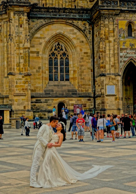 St Vitus Cathedral wedding