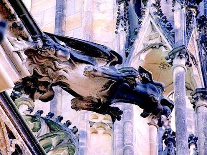 St Vitus Gargolye - Prague