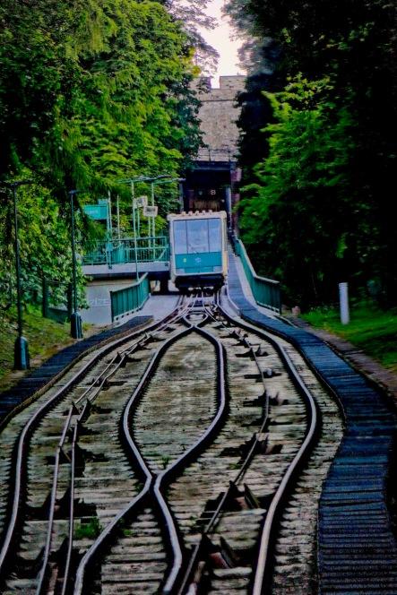 funicular - Prague