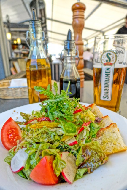 Salad with beer - Czech Republic
