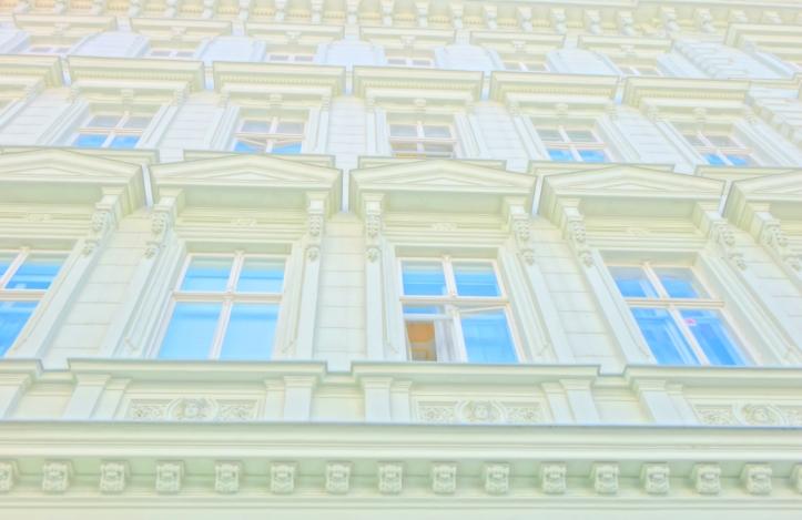 Bratislava architecture--windows