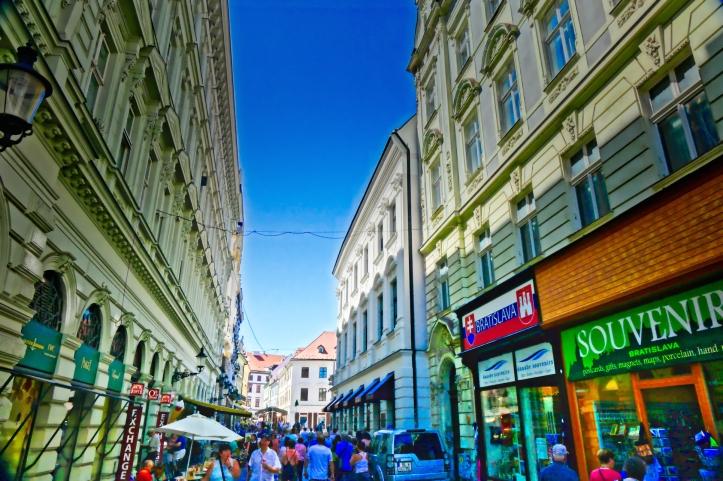 Bratislava pedestrian street