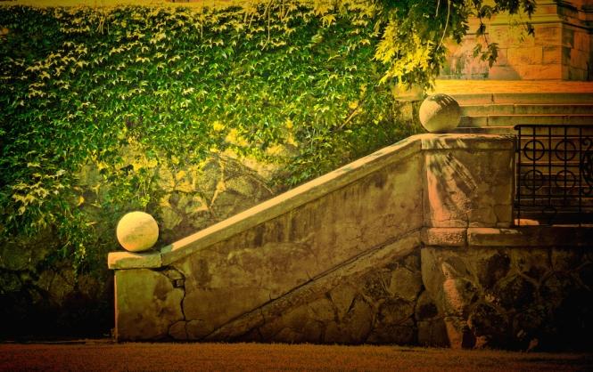 Stone Stairs Rudnayovo Square Bratislava