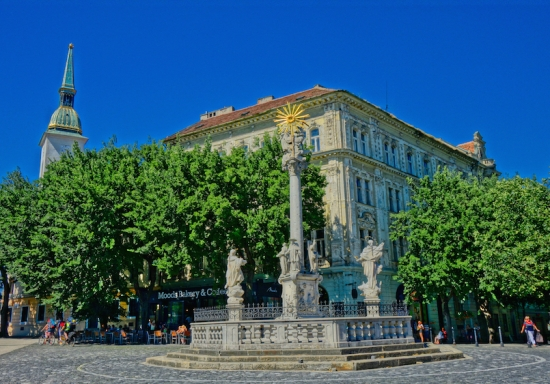 Moods Bakery Holy Trinity Column Bratislava