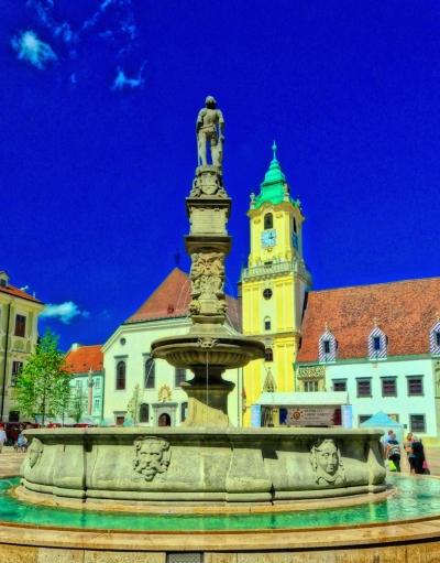 Roland's Fountain Bratislava
