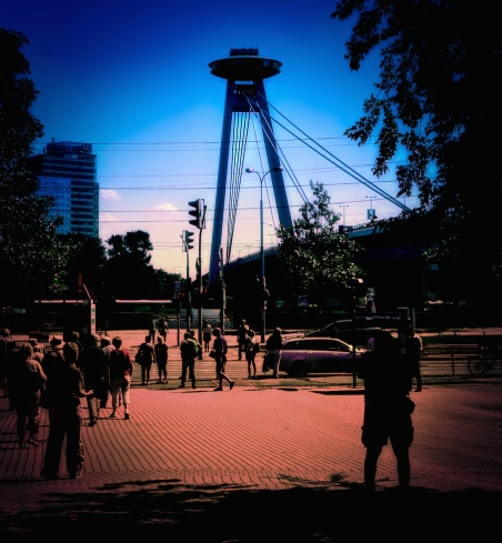 UFO Bridge Bratislava, Slovakia