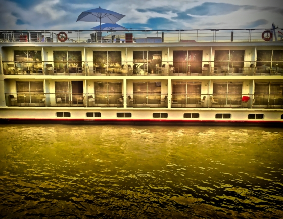 Tourist Riverboat on Danube