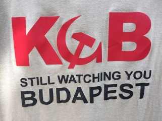 Budapest T-shirt with KGB