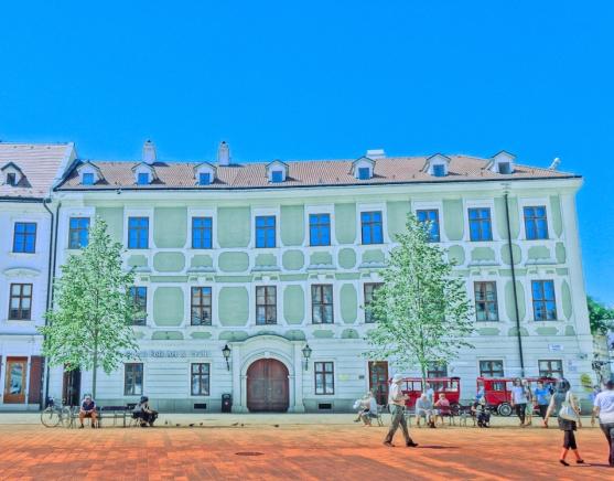 Hlavne Square Bratislava
