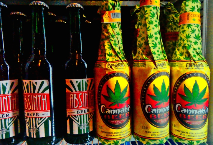 beer with cannibus