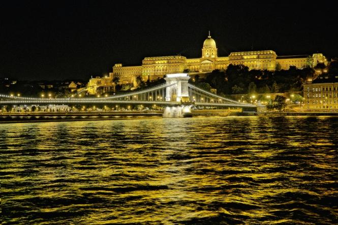Chain Bridge Buda Castle Budapest