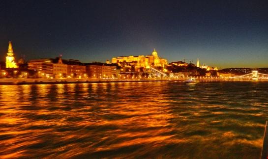 Danube Budapest night