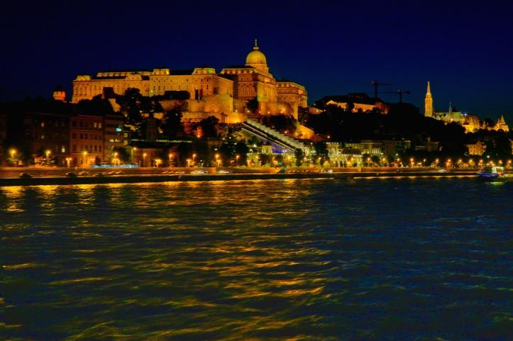 Buda Castle Budapest night