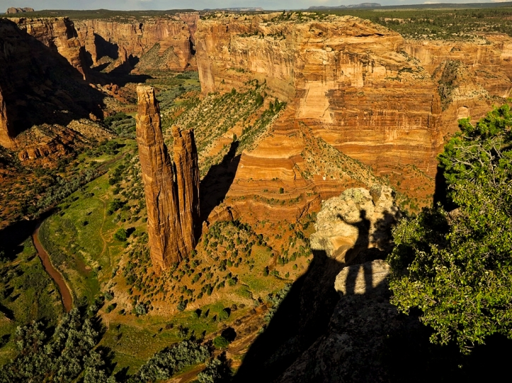 Canyon de Chelly with shadow