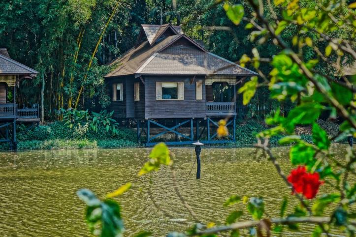Inle Lake Cabin, Burma-Myanmar
