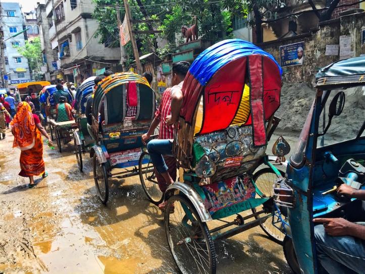 Dhaka street, Bangladesh