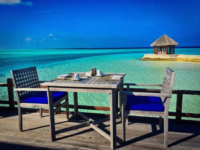 Maldives ocean bungalow