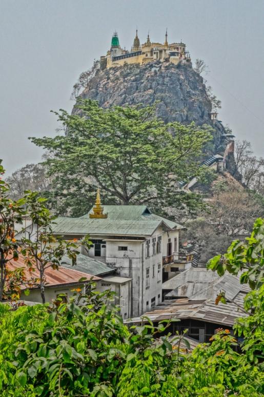 Mt Popa, Burma-Myanmar