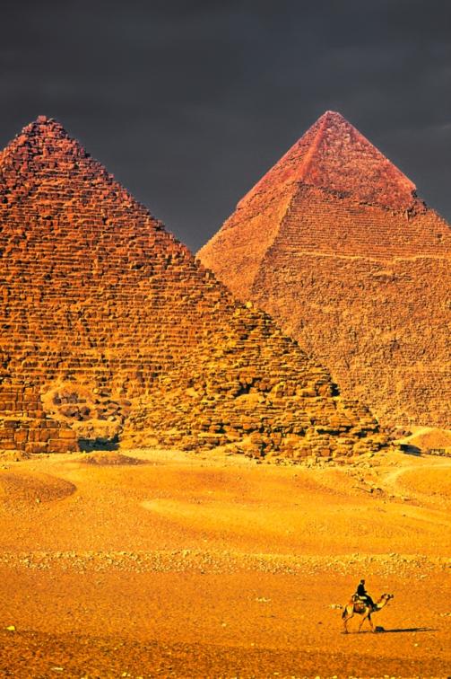 Pyramids - Giza, Egypt