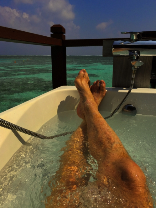 Maldives Over-water Jacuzzi