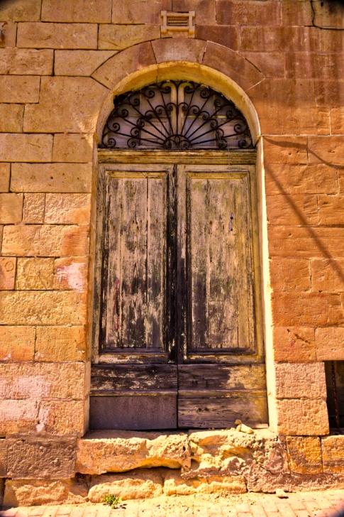 Old door, Gozo, Malta