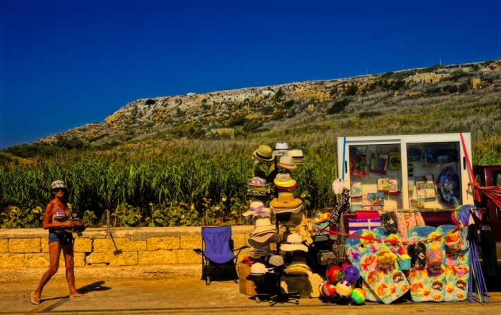 Ramla Bay hat vendor