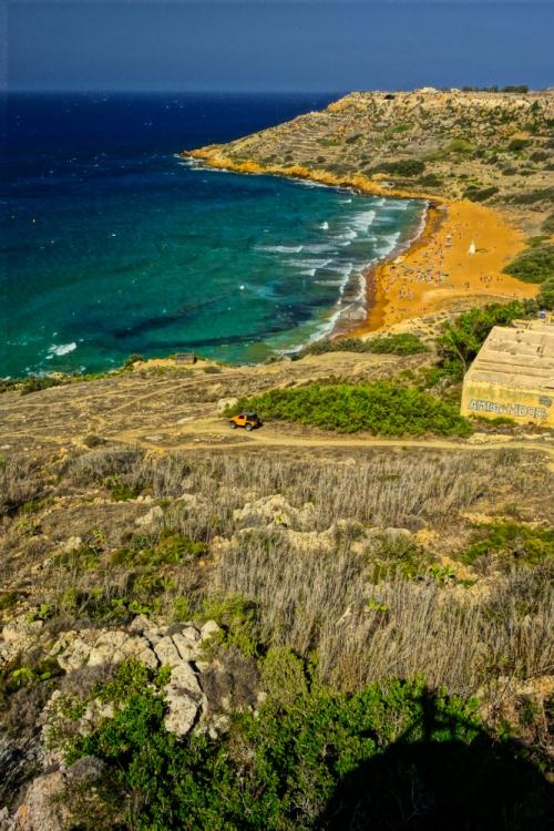 Calypso Cave View, Gozo, Malta