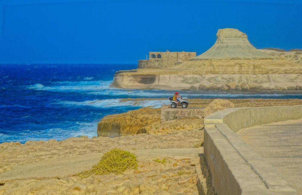 Qolla l-Bajda, Gozo, Malta