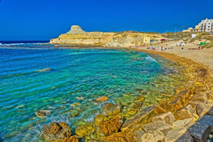 Xwenji bay, Gozo, Malta