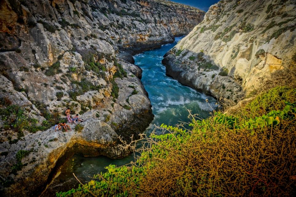 wied il ghasri, Gozo, Malta