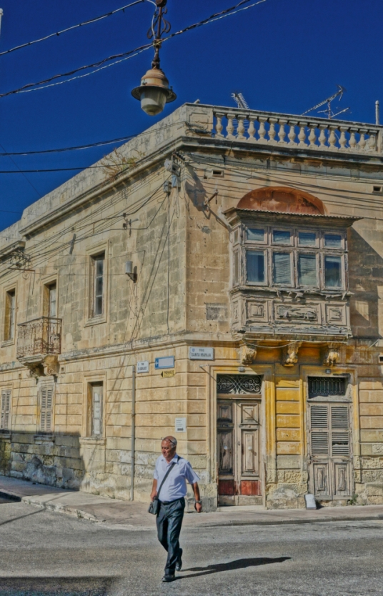Malta stone house