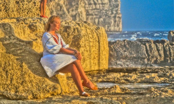 Dwejra Cliffs sunset malta